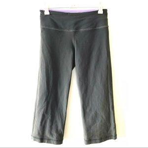 Lululemon Groove Reversible Gray Cropped Pants